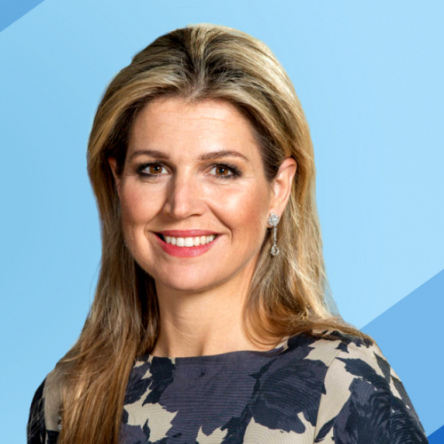 Her Majesty Queen Máxima of the Netherlands Announced as the 2021 Financial Health Visionary Award Recipient