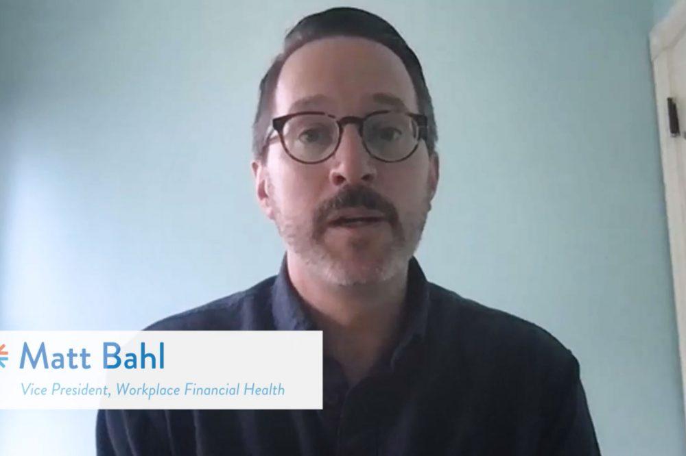 #FinHealthMatters Day Video Series: Matt Bahl